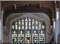 SU6491 : Ewelme Church, the east window by Alan Murray-Rust