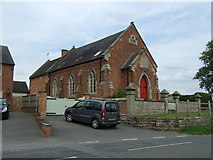 SK1638 : Converted chapel, Great Cubley by JThomas