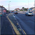 ST3090 : Malpas Road bus stop and shelter, Newport by Jaggery
