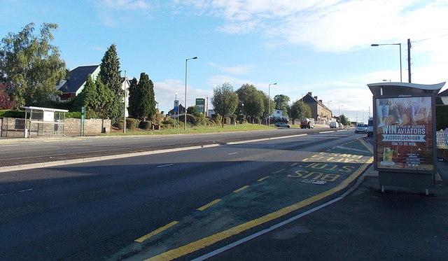 Malpas Road bus shelters, Newport