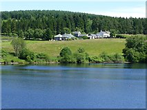 NY6491 : Looking across Kielder Water  by Russel Wills