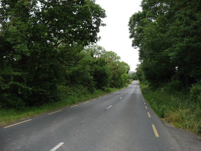 The R752 between Rathdrum and Rathnew