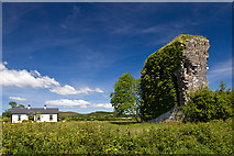 G6324 : Castles of Connacht: Moymlough, Sligo (1) by Mike Searle