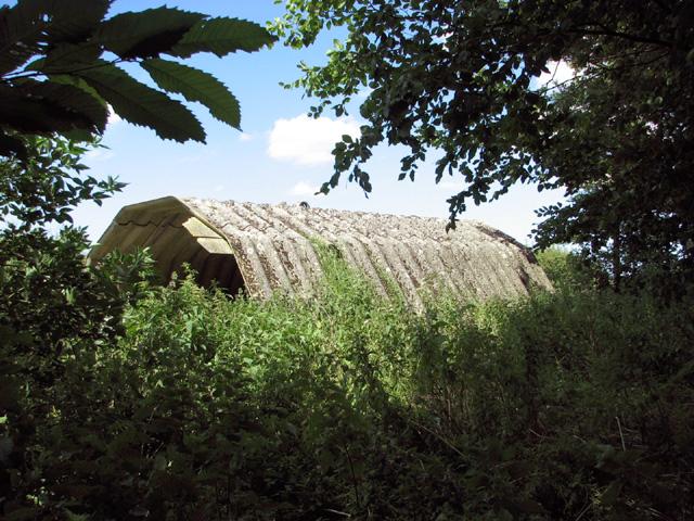 WW2 barracks hut