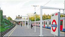 TQ2572 : Wimbledon Park Station by Ben Brooksbank