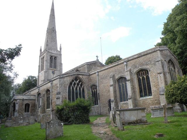 All Saints: the parish church of St. Ives