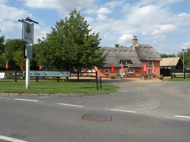 'The Abbot's Inn' at Abbots Ripton