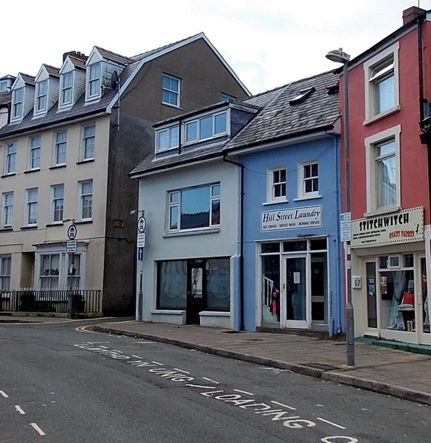Stitchwitch and Hill Street Laundry in Haverfordwest