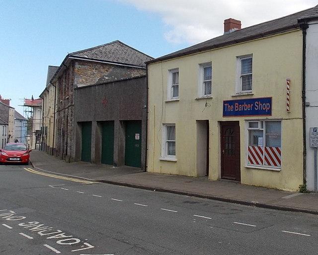 The Barber Shop in Haverfordwest