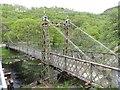 SN9364 : The Old Suspension Bridge by Bill Nicholls
