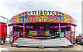 NO5603 : Fairground ride, Anstruther by William Starkey