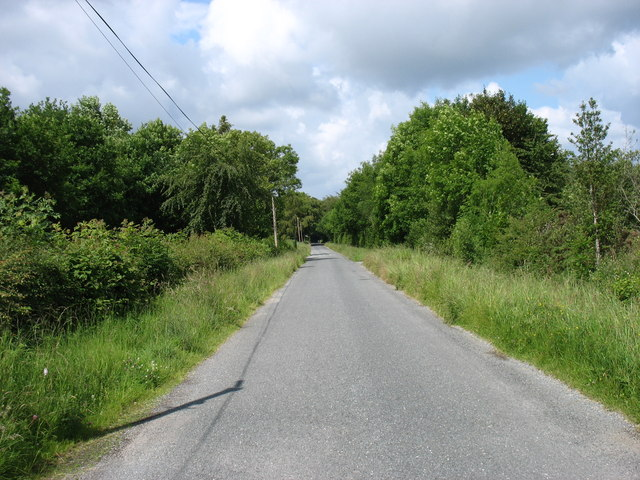 The L5035 heading for Killeigh