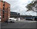 ST1776 : Gwyn Nicholls Memorial Gates, Cardiff by Jaggery