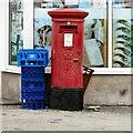 SH7981 : E II R postbox LL30 36 by Gerald England