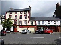 C2502 : Historic building and Raphoe Newsagents, Raphoe by Kenneth  Allen
