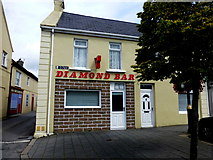 C2502 : The Diamond Bar, Raphoe by Kenneth  Allen