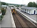 NH5558 : Dingwall railway station, Highland by Nigel Thompson