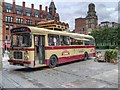 SJ8397 : Rum Bus at Great Northern Square by David Dixon