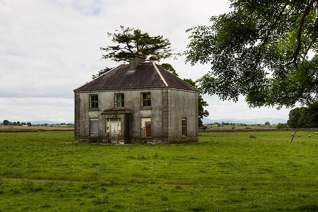 Abandoned house at Turin, Mayo