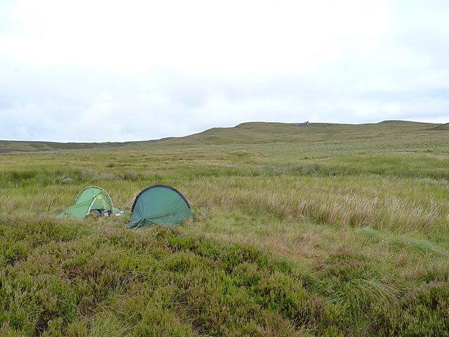 Wild camp beside the Afon Serw