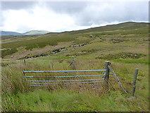SH7841 : Gateway in the Cefngarw fence by Richard Law