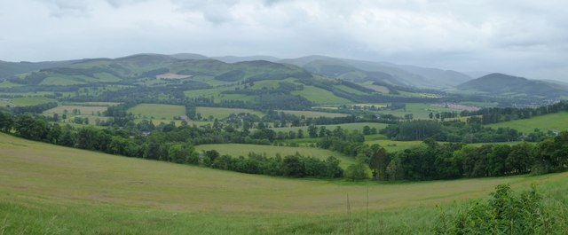 Tweed Valley from Glentress Forest