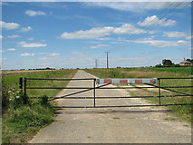 TF6304 : View west along New Road by Evelyn Simak