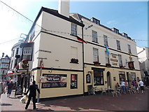 SY6778 : The Golden Lion in Weymouth by Jaggery