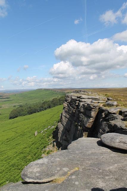 Stanage Edge, Derbyshire