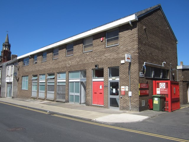 Royal Mail delivery office, Berwick-upon-Tweed