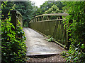 TQ0760 : Bridge over the River Wey by Alan Hunt