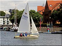 ST5772 : Bristol boats 27 by Anthony O'Neil