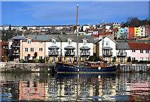 ST5772 : Bristol boats 30 by Anthony O'Neil