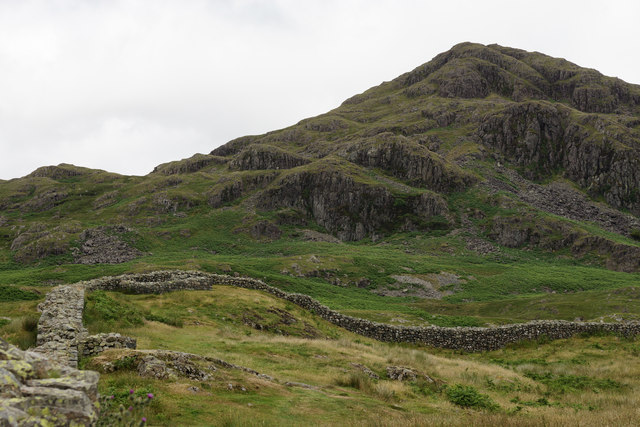 View From Hardknott Roman Fort