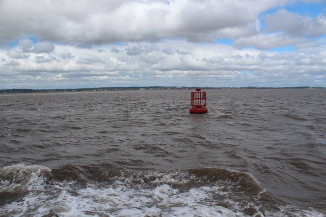 River Mersey - (Eastham Channel at high water)
