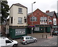 ST3087 : Boarded-up former Church House pub for sale, Stow Hill, Newport  by Jaggery
