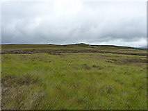 SH7743 : Across moorland to Llechwedd Mawr by Richard Law