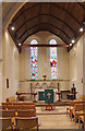 SU9006 : St Andrew, Tangmere - East end by John Salmon