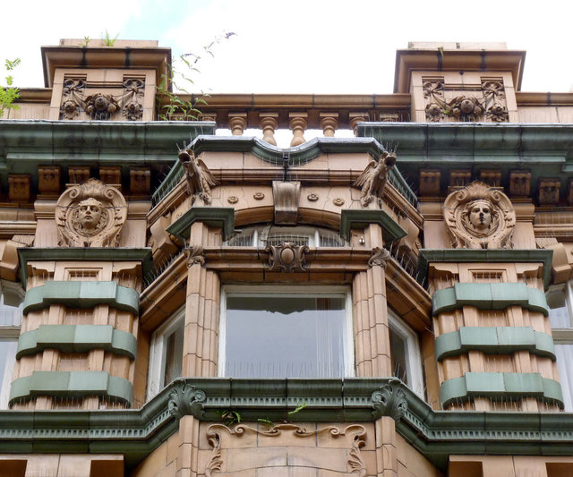 Barnsley Cooperative building, Market St, detail