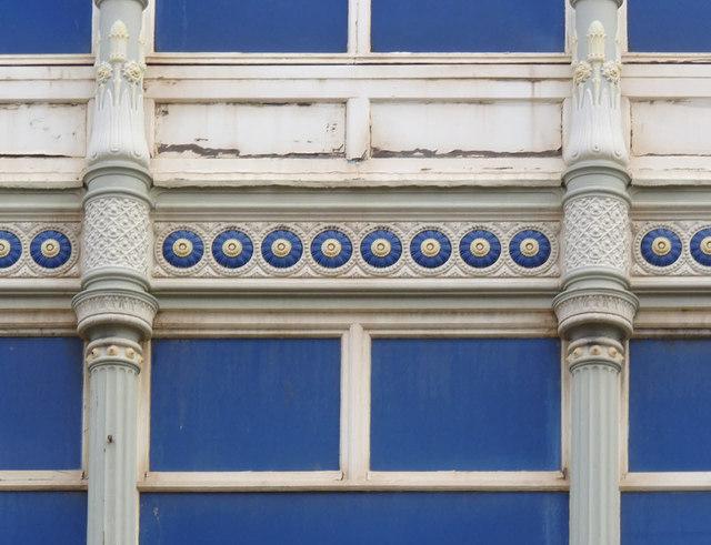 Barnsley Cooperative building, Wellington St, detail
