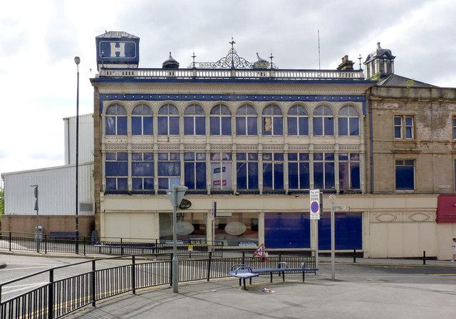 Barnsley Cooperative building, New Street facade