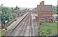 TQ6057 : Borough Green & Wrotham Station, 1990 by Ben Brooksbank