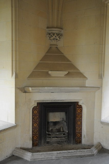Fireplace within Abberley Clock Tower