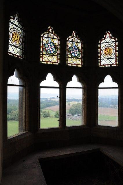 Oriel window, Abberley Clock Tower