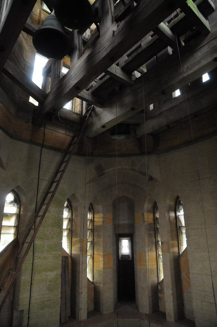 Belfry in Abberley Clock Tower