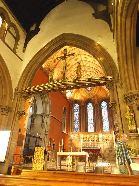 St Stephen's, Lewisham: chancel