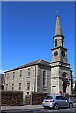 NS3230 : Former Parish Church, now Troon Old Parish Church Hall by Leslie Barrie