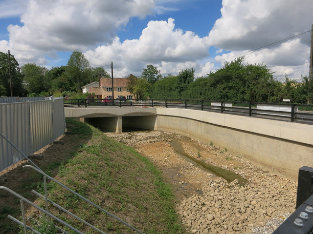 New channel and bridges, Steeple Bumpstead