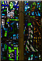 TQ7908 : Stained glass window, St Leonard's church by Julian P Guffogg