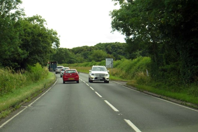 The A4421 to Bicester
